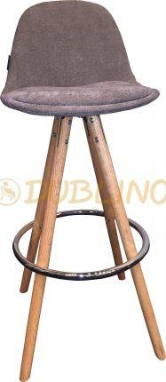 DL POLY BS UP Grey - barová židle