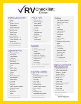 Camping Checklist - Camping Checklist - Don't Leave Home Without the Right Camping Gear ** Click on the image for additional details. #CampingOrganization #rvcamperchecklist