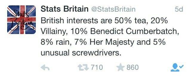 I love Stats Britain! Lol