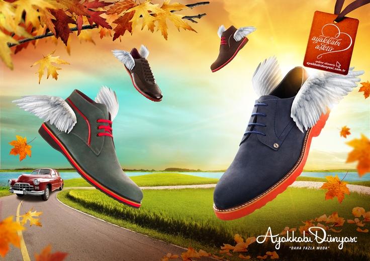 Ayakkabı Dünyası 2012-2013 Sonbahar-Kış İmaj Kareleri