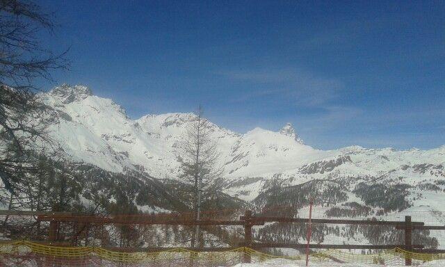 Torgnon valle d aosta la montagna la neve