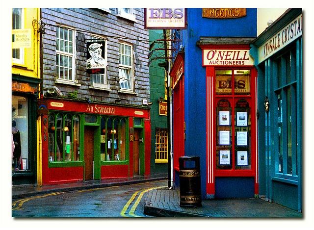 Kinsale, Ireland. Charming coastal town on the southern tip of Ireland.