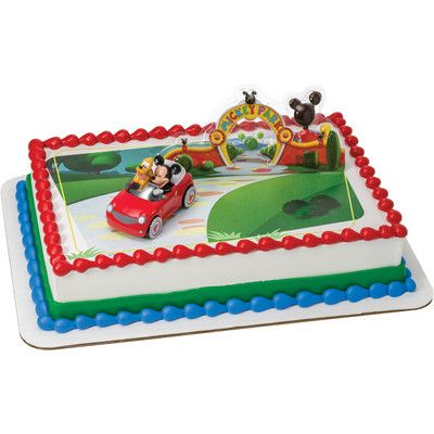 Mickey Mouse Ice Cream Cake Dairy Queen