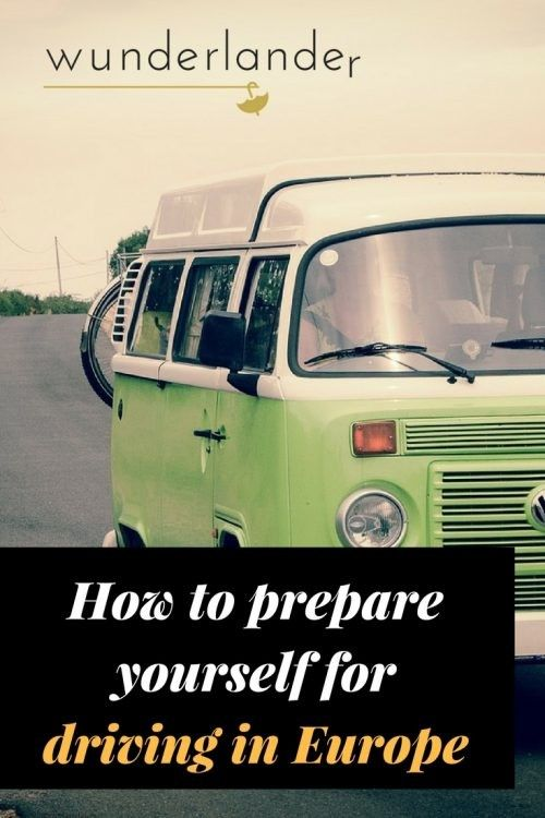 Driving in Europe? Find out, how to prepare.... #travel #drive
