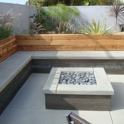 Concrete Bench Design Ideas Pictures Remodel And Decor