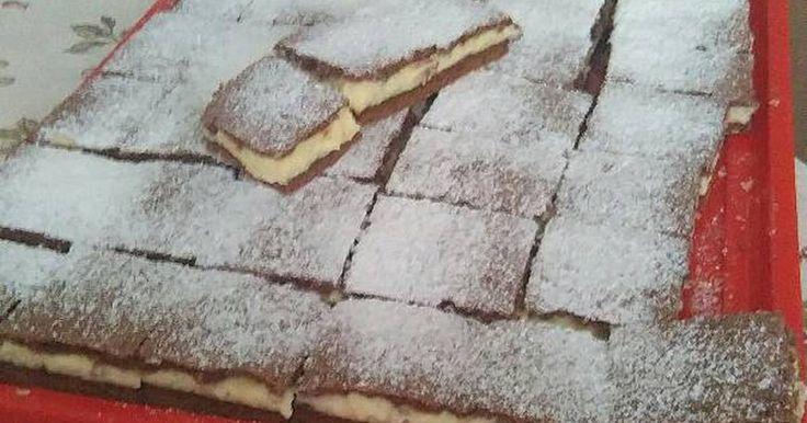 Mennyei Tejfölös csoda süti recept! Kedves szomszédom csinálta meg először.Nagyon rákattant a családunk.Azóta én is megcsinálom havonta.Finom😃