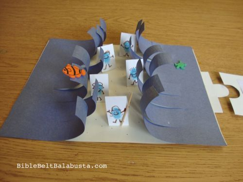 A 3-holiday diorama: Passover-Omer-Shavuot _ thumbprint Israelis!