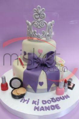 Bebek / Çocuk Pastaları > Kız Çocukları İçin > Güzellik Kraliçesi Pasta
