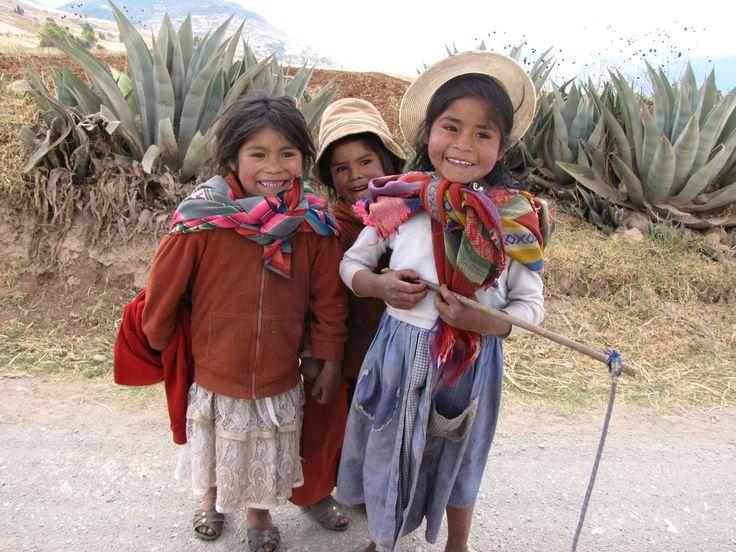 En Ollantaytambo, Perú