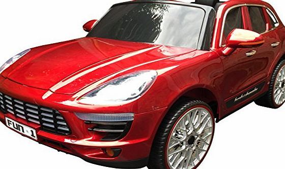 Rocket PORSCHE CAYENNE STYLE 12V KIDS RIDE ON ELECTRIC CAR JEEP (Metallic Red) No description (Barcode EAN = 5060222746266). http://www.comparestoreprices.co.uk/december-2016-week-1/rocket-porsche-cayenne-style-12v-kids-ride-on-electric-car-jeep-metallic-red-.asp