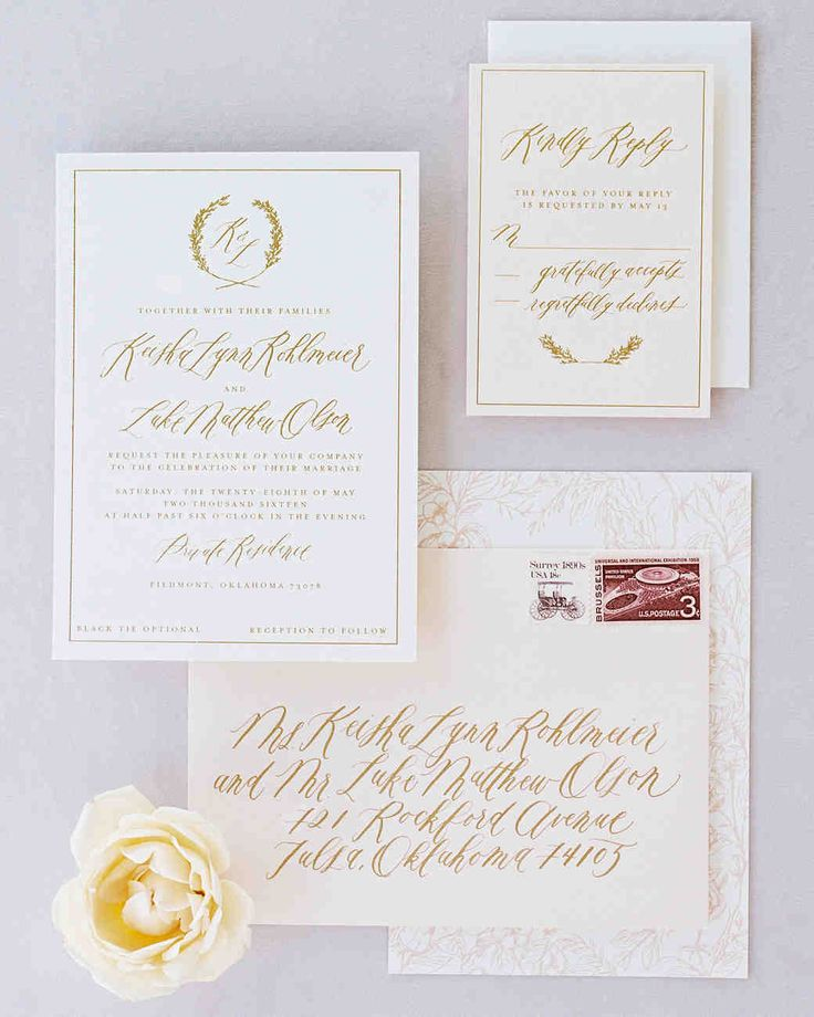 541 best wedding paper goods images on pinterest | wedding paper, Wedding invitations