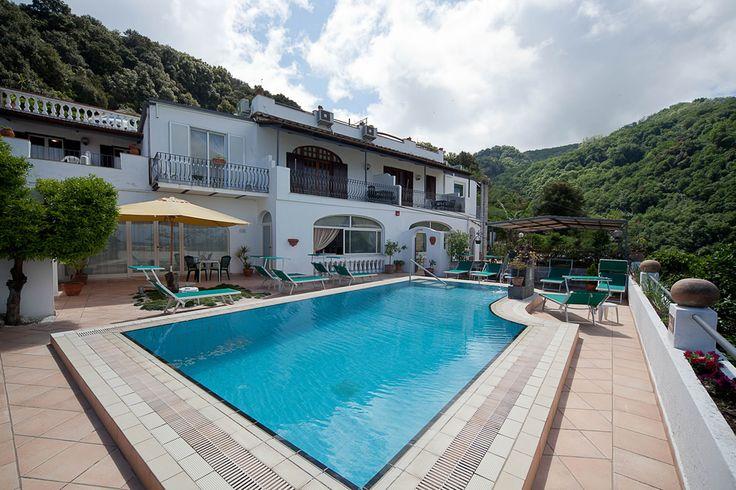 Outdoor view of Hotel Ape Regina island of #ischia -  Italy
