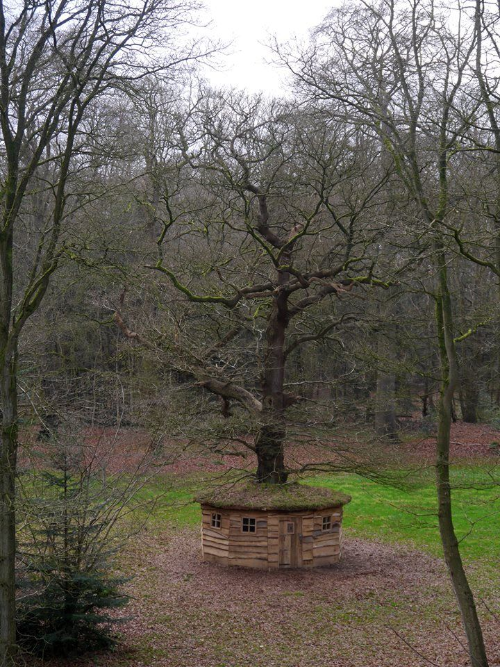 Folly Secret Oak - Estate Fraeylemaborg, Slochteren, The Netherlands