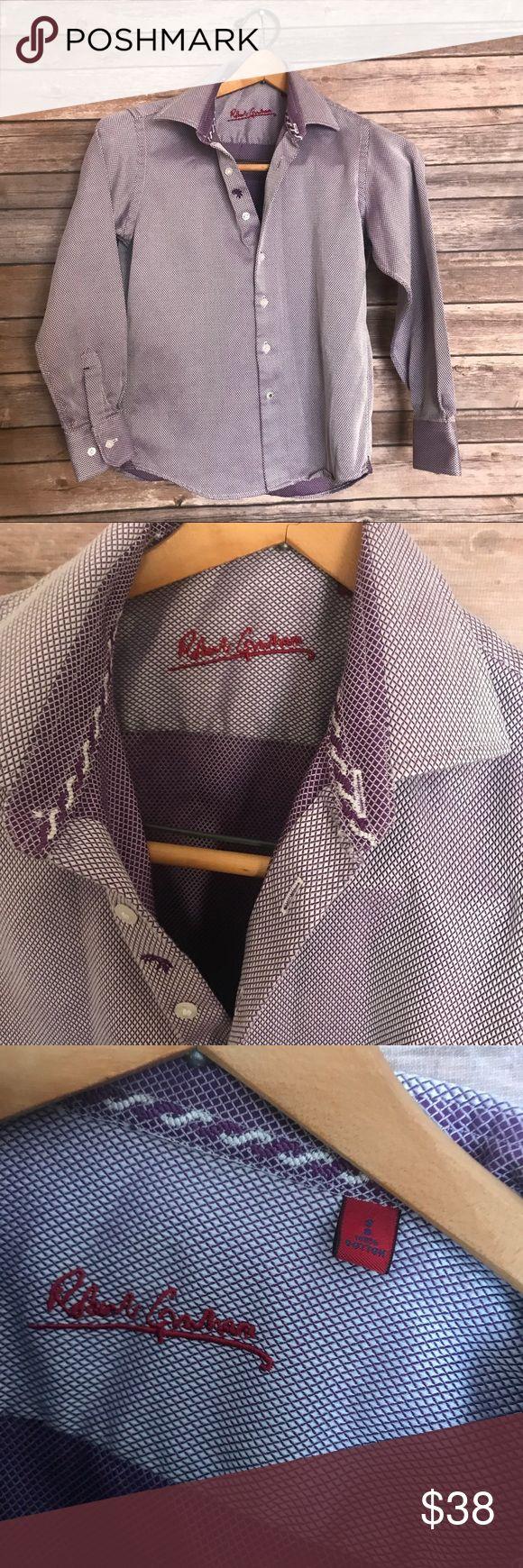 Robert Graham purple button down blouse shirt Robert Graham purple button down blouse shirt Robert Graham Tops Button Down Shirts