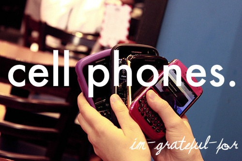 : Things 333, Things I M, Girly Things, Cell Phones, Truths, Blackberries, Places