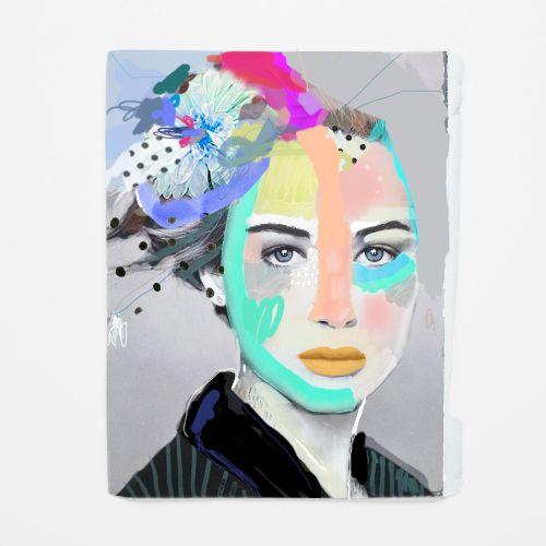 fashion illustration + collage on paper / erin flannery [erinart.net]
