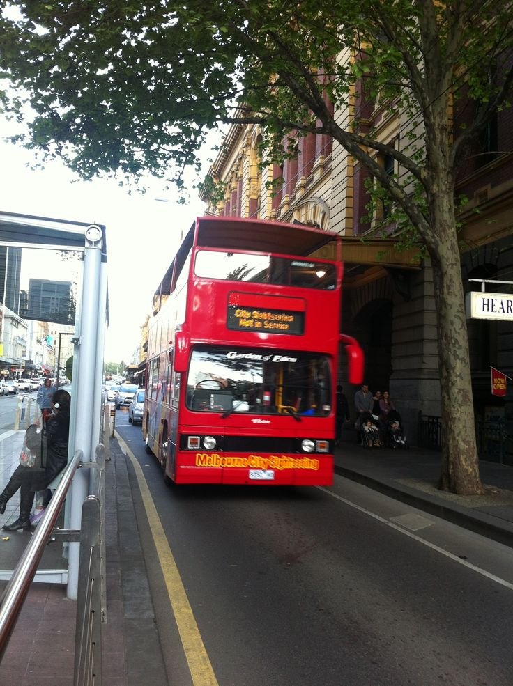 Hop On Hop Off Bus Melbourne