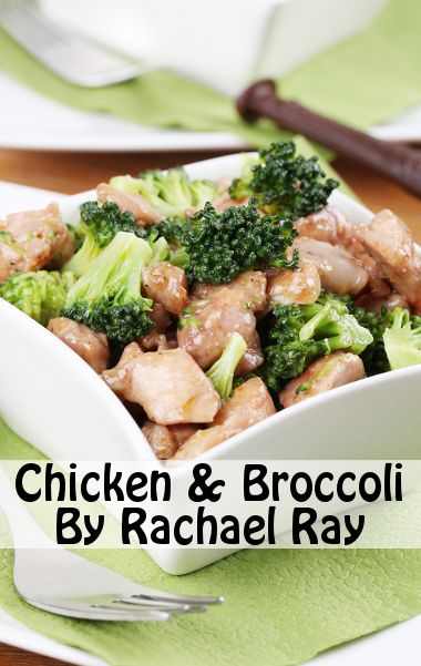 Rachael Ray's Chicken and Broccoli Recipe is an easy-to-make nutritious dish.