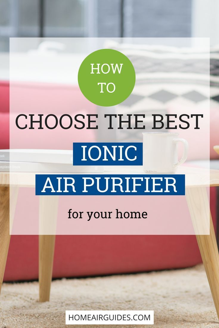 Best Ionic Air Purifier Reviews Ionizer Air Cleaner Buyers Guide