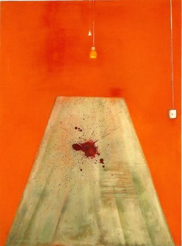 Blood on the Floor. Francis Bacon, 1986. (+Paul Stubbs poem)