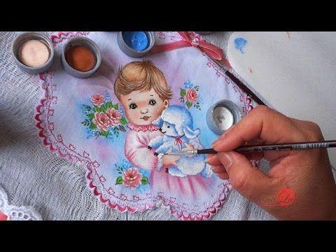 Bebê em Tecido (Aula 108) - YouTube