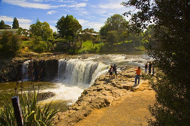 Haruru Falls, see more at New Zealand Journeys app for iPad www.gopix.co.nz