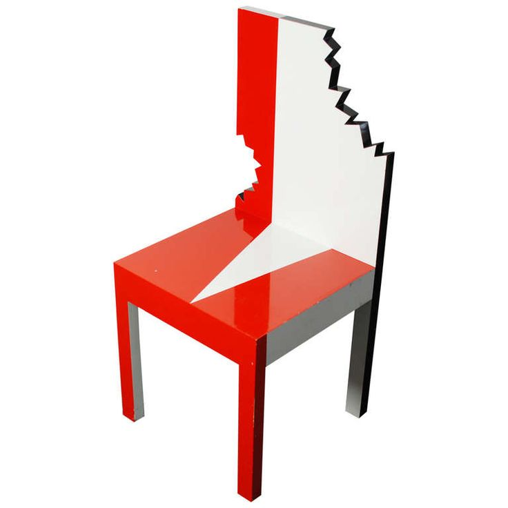memphis furniture design. pierre sala piranha chair limited edition 1983 contemporary chairsmodern chairsmemphis designfurniture memphis furniture design