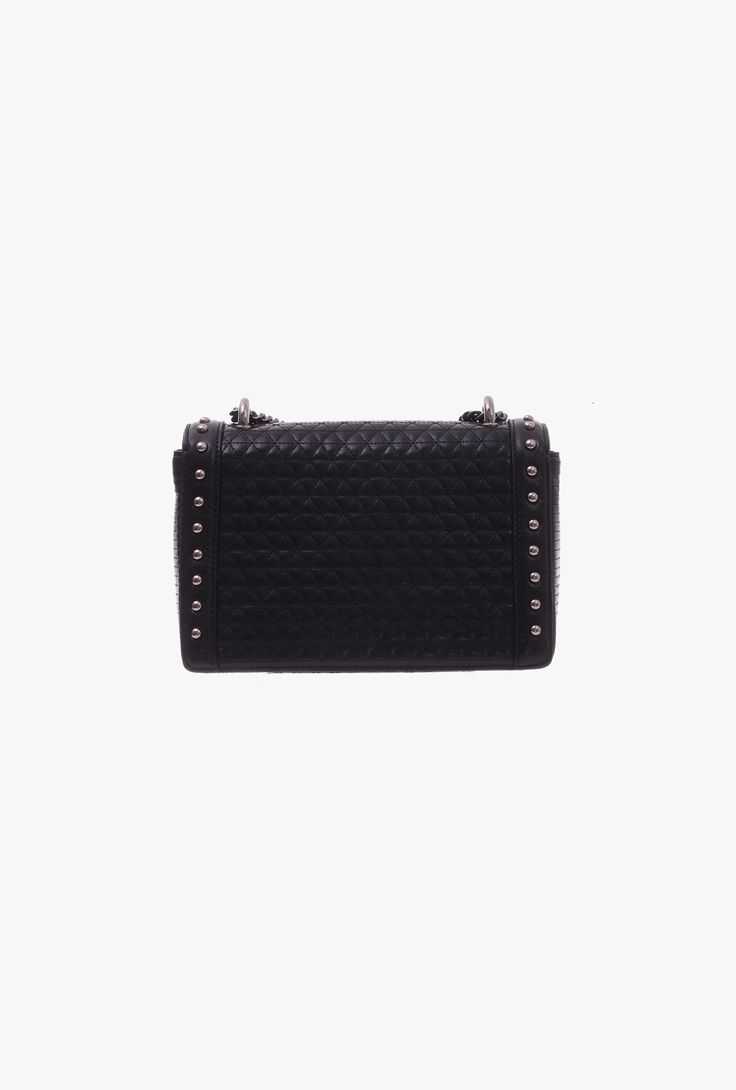 Quilted leather BBox 20 bag | Women's bags | Balmain