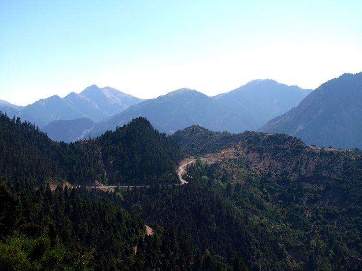 Greek mountains!
