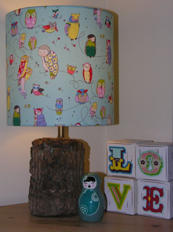 45 best lampshades images on pinterest lamp shades light covers twit twoo lampshade light fitting by genielampshades on etsy 4495 aloadofball Images