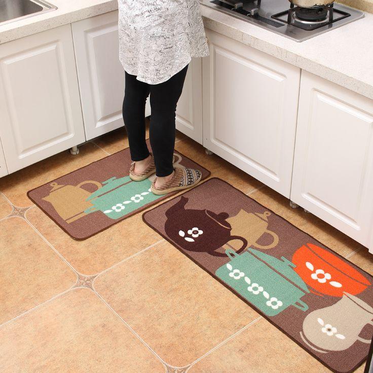 50*120 cm coperta di zona cucina di Alta qualità antiscivolo Impermeabile tappeti e tappeti da cucina Spedizione Gratuita