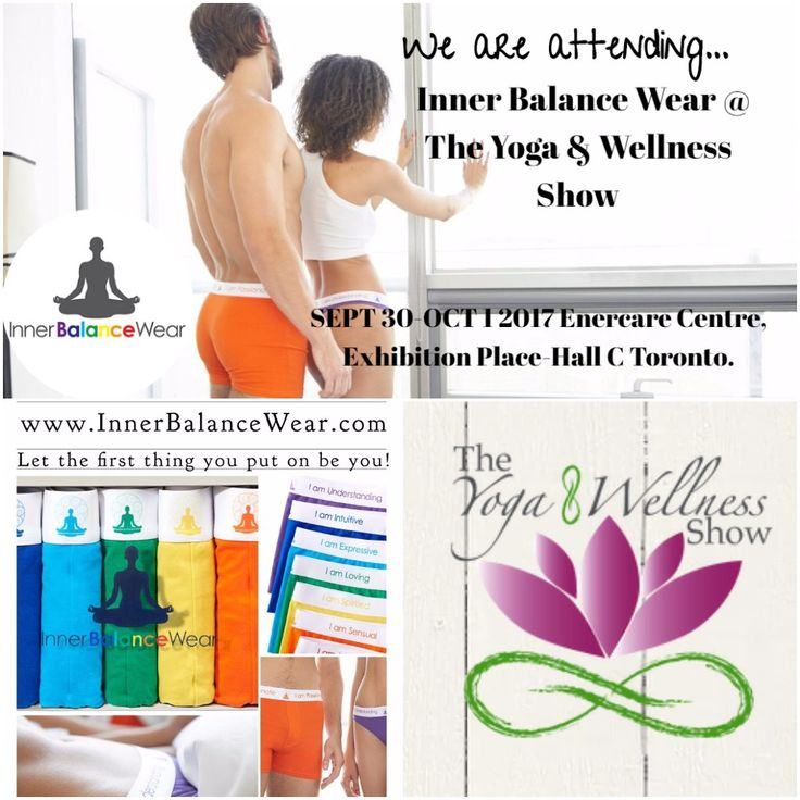 "We are attending The Toronto Yoga & Wellness Show  September 30th & October 1st the Yoga & Wellness Show comes back to Toronto.  Learn, teach, shop, discuss and enjoy all things associated with a healthy lifestyle, and of course – all things yoga."" - Yoga Wellness  Come visit inner balance wear at our booth, we would love to shake your hand & have a conversation! Hope we see you there !"