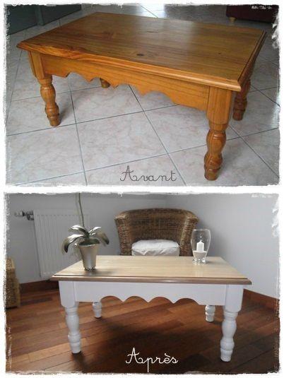 Retaper sa table en bois vernis - YouTube Techniques déco