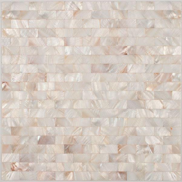 Mother of Pearl Brick Mosaic