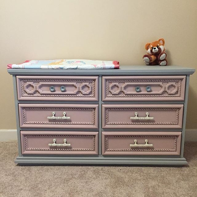 The Perfect Nursery Piece #bestpaintonplanetearth #dixiebelle  #dixiebellesnob #furniture