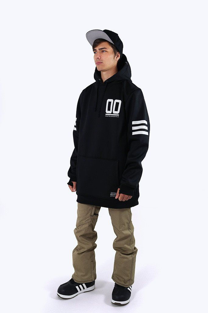 Indyslopestyle Mens 00 Technical Snowboard Hoodie