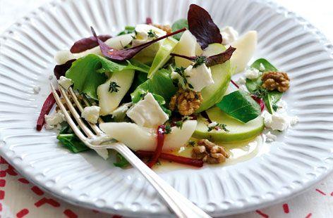 EASY-TO-DO PALEO APPLE PEAR AND WALNUT SALAD RECIPE   Paleo Recipes for the Paleo Diet