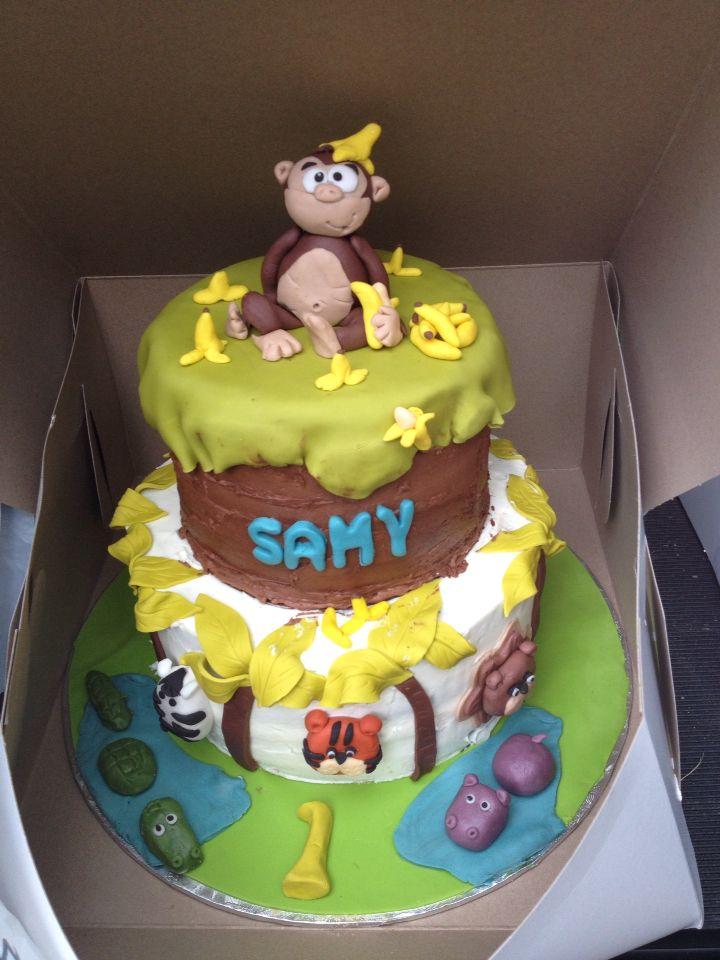 Gâteau de la jungle / jungle cake