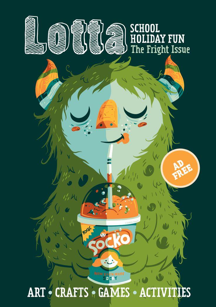 Lotta Magazine - lijkt me een heel leuk tijdschrift