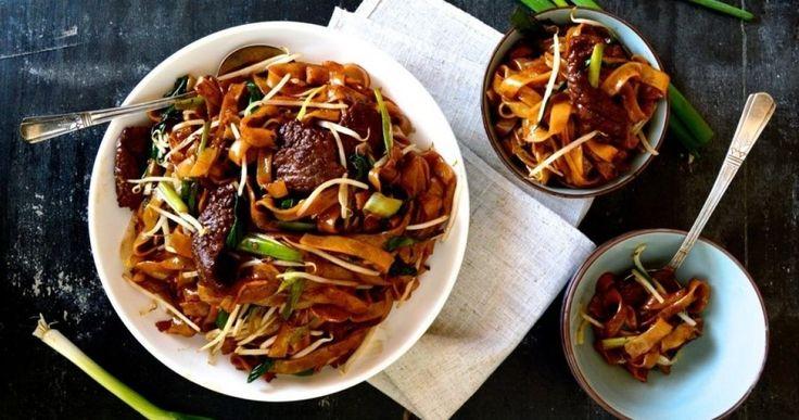 beef ho fun noodle soup  chow fun noodles fun noodles