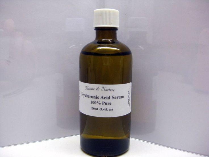 Pure Hyaluronic Acid Serum (100ml) -Keep Sin Firm, Moist, Plump,Wrinkle free:G #NatureNurture moonlightlargo @ ebay  $15.95