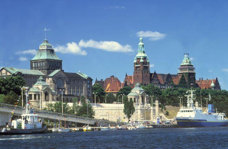 Szczecin widokówka #Szczecin #Poland #stettin