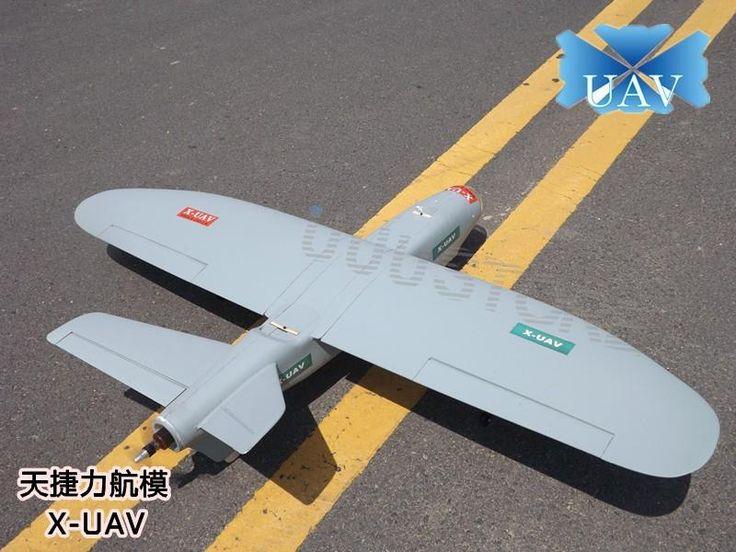 FPV X UAV Talon 1720mm V Tail Drone Plane V2 Gray White Version Flying Glider EPO Modle RC Model Airplane