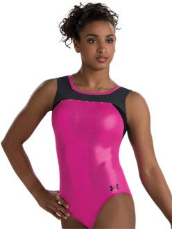Love the square neck on this leo! http://www.gkelite.com/UnderArmour-InStock-WomensTankLeotards/6305