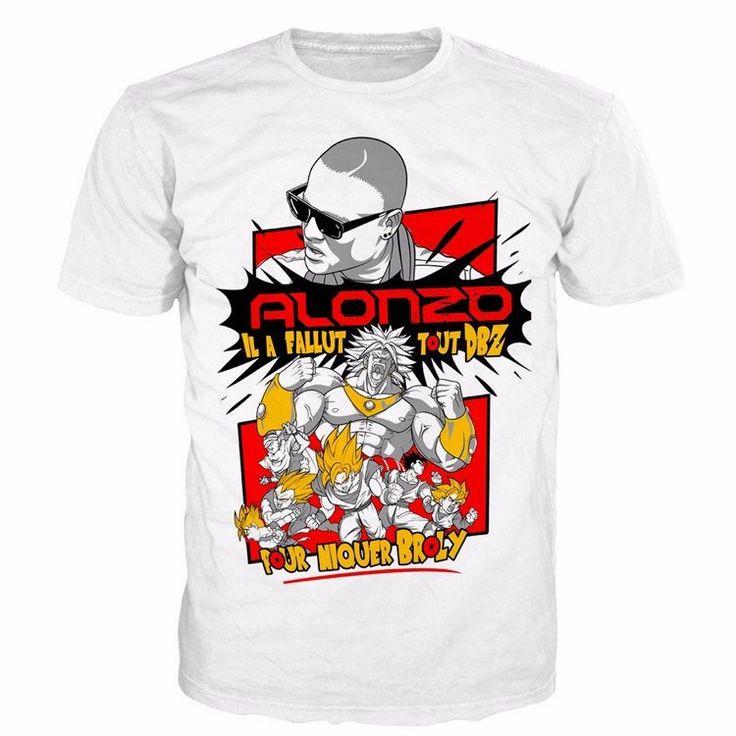 Alonzo Rap Hip Hop Il a Fallut Tout DBZ Pour Niquer Broly T-Shirt - Saiyan Stuff