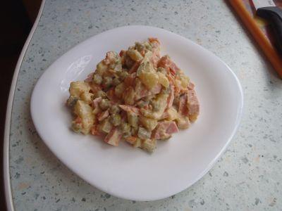 Recept: Vlašský salát podle Kluku v akci