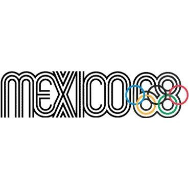 Mexico City, 1968 Olympics logo