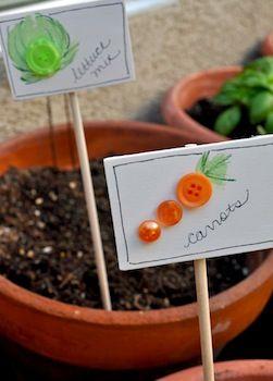 25 garden marker ideas for kids to make