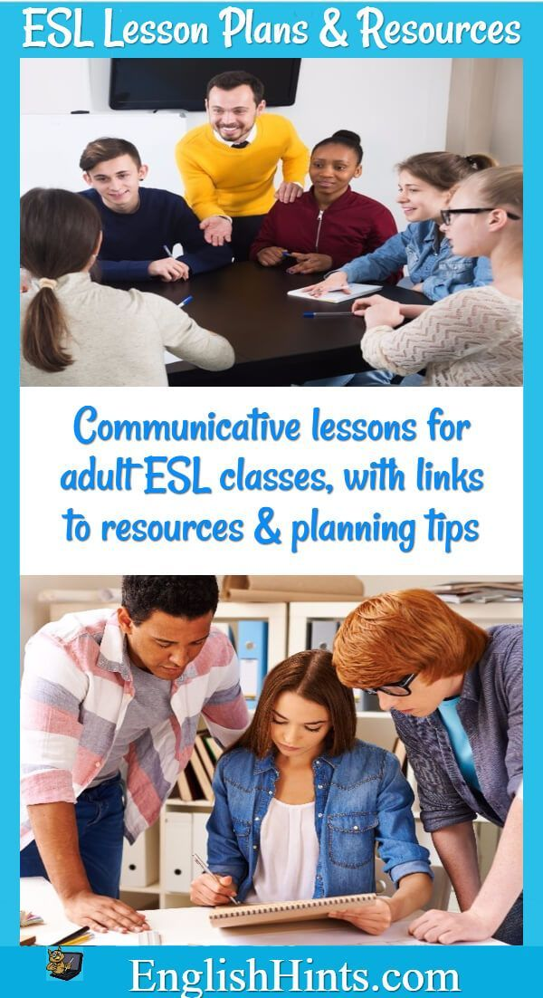Adaptable ESL Lesson Plans, resources, and activities to make life easier for ESL or EFL teachers.