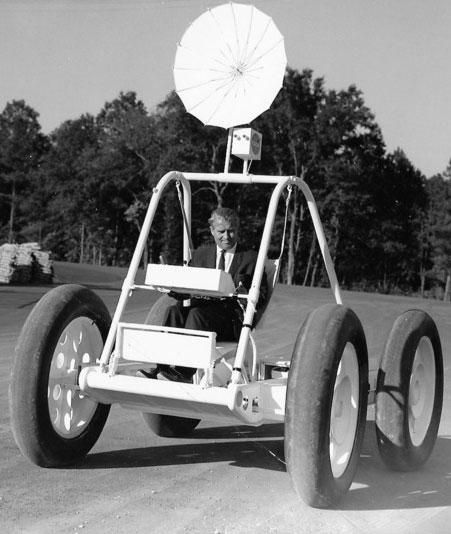 You know what they say: one man's trash is another man's treasure. Especially when you find a NASA lunar rover